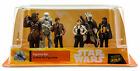 Disney Store Solo A Star Wars Story 6 Figure Play Set Cake Topper Toy Set Han