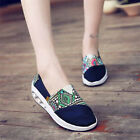 Womens Canvas Sneaker 9 Shake Shoes Sport Casual Breathable Lazy Loafers walking
