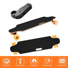 Wireless Electric Powered Skateboard 4 Wheel Longboard W Remote Controller 250W