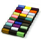 30 Colors Spools Mixed 100 Polyester Sewing Quilting Threads Set All Purpose