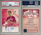 Joey Votto Reds 2004 Bowman Signs of the Future SOTF Rookie Card Rc Auto PSA 10