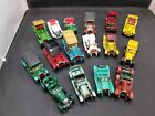 16 Matchbox Cars of Yesteryear Assorted Cars w Case