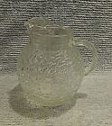 1970's Anchor Hocking Clear Soreno Milano Lido Ball Ripple Water Pitcher FREE SH