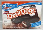 Drake's Fudge Dipped Devil Dogs Cream Filled Devils Food Cakes 18.32 oz Drakes