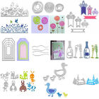 Various Shape Metal Cutting Dies Stencils DIY Scrapbooking Paper Card Handmade