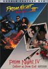 PROM NIGHT III THE LAST KISS + PROM NIGHT IV DELIVER US FROM EVIL New DVD 3 4