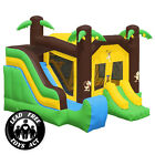 Commercial Grade Bounce House 100 PVC Jungle Slide Inflatable Only