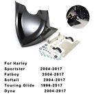 Chin Fairing Front Spoiler For Harley Dyna Fatboy Softail Touring Glide 96-17