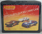 DTE 1983 MATCHBOX SUPERFAST 48 CAR COLLECTORS CARRY CASE 4 BLUE TRAYS