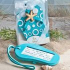 40 Beach Flip Flop Luggage Tags Wedding Bridal Baby Shower Party Favors