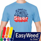 Siser EasyWeed HTV Heat Transfer Vinyl for T Shirts 15 by the Yard Rolls