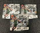 Lot (3) 2014-15 Totally Certified Basketball Unopened Factory Sealed Hobby Box