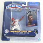 ESZ696. Starting Lineup2 EXTENDED SERIES 2001: Alex Rodriguez Rangers by Hasbro