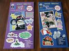 2 SCRAPBOOKING PAPER PIZAZZ PUNCH OUTS SAYINGS PHOTO FRIENDS ACID FREE HOTP