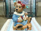 Boyds Bailey Bear Cookie Jar on Suitcase