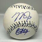 Mike Trout & Bryce Harper Signed 2012 All Star Game Baseball Autograph JSA LOA