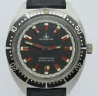 VINTAGE Dugena Watertrip Mens 38mm Automatic Stainless Steel Divers Watch PUW156