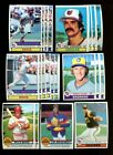 1979 TOPPS BASEBALL STAR & ROOKIE CARD LOT OF 100 EXMT *100071