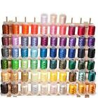 63 Spools Brother Colors Polyester Embroidery Machine Thread QUALITY