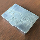 Small Sterling Silver Pill Box with Bear