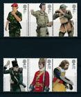 15604 Great Britain 2007  Uniforms Good Set of Very Fine MNH Stamps