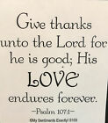 NEW MSE My Sentiments Exactly Unmounted Rubber Stamp S105 Give Thanks