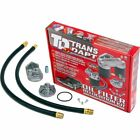 Transdapt Oil Filter Relocation Kit New for Chevy Olds S10 Pickup 1150
