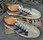 Hot Mens Rhinestone Shiny Leather Lace up Fashion Athletics Sneakers Board Shoes
