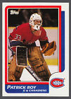 1986-87 TOPPS HOCKEY #53 PATRICK ROY RC EX-NM MONTREAL CANADIENS ROOKIE CARD