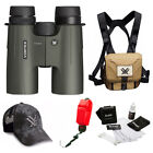 Vortex Optics Viper HD 10x42 Roof Prism Binocular + Glasspak Harness Bundle