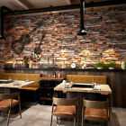 3D Textured Wall Paper Brick Stone Effect Wall Paper Rool Sticker Wallpaper Room