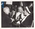 Billy Wilder directs Gloria Swanson Cecil B De Mille VINTAGE Photo set candid