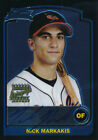 Nick Markakis Braves 2003 Bowman Chrome Draft #171 Auto Rookie Card rC NM-MT QTY