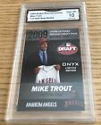Mike Trout Rookie Cards Checklist and Autographed Memorabilia Guide 22