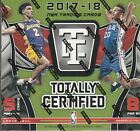 2017 18 TOTALLY CERTIFIED BASKETBALL HOBBY BOX 2 HITS