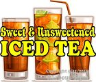 Iced Tea Decal Choose Your Size Concession Food Restaurant Truck Sticker