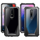 Poetic OnePlus 6 Case Guardian Rugged Clear Bumper With Tempered Glass 4 Color