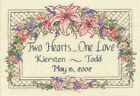Dimensions Counted Cross Stitch Kit One Love Wedding Record 6897