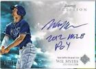WIL MYERS 2012 BOWMAN INCEPTION ROOKIE AUTO AUTOGRAPH INSCRIPTION # 10 RAYS SSP