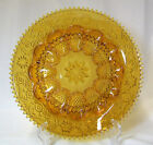 Vintage Indiana Glass Tiara Amber 12 Inch Egg Relish Tray VGC