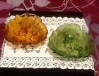 2 Vintage Indiana Glass Candy Dish Loganberry Leaf Shaped Green