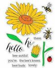 Hello Daisy  Bugs Hero Arts Clear Stamp  Cut Thin Metal Die Set DC219 NEW