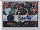 2010 JOHN ELWAY PANINI LIMITED MATERIAL MONIKERS AUTO JERSEY RELIC 32 50