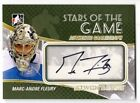 2011 ITG BETWEEN THE PIPES GOALIEGRAPH AUTO MARC ANDRE-FLEURY #A-MAF