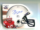 2011 Leaf Ultimate Draft Die-Cut Helmet AUTOGRAPH PURPLE Roy Helu 5 Nebraska