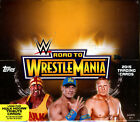 2015 TOPPS WWE ROAD TO WRESTLEMANIA WRESTLING HOBBY BOX FACTORY SEALED NEW
