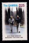 GAMBIA  SCOTT# 2909a  MNH PRESIDENT RONALD REAGAN WITH MARGARET THATCHER