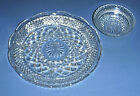 WEXFORD Glass Scalloped Rim Divided 11