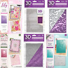 3D Embossing Folders by Crafters Companion 5 x 7 Stunning Detail