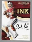 ANDREW LUCK 2016 Panini Immaculate Ink Autograph #4 5 STANFORD UNIVERSITY